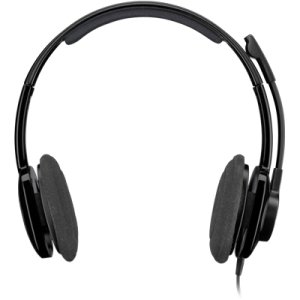 Logitech H250 Headset. Stereo Headset H250 Headst. Stereo - Graphite - Mini-Phone - Wired - Over-The-Head - Binaural Snr - Semi-Open - Noise Cancelling Microphone