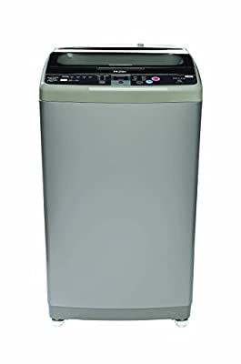 Haier HSW72-588A Fully-automatic Top-loading Washing Machine (7.2 Kg, Silver Grey)