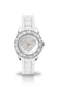 Sekonda - 4606.27 - Montre Femme - Quartz Analogique - Bracelet Silicone Blanc