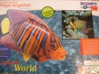 Discovery Channel Crafted Creatures Regal Angelfish Plactic Model Kit