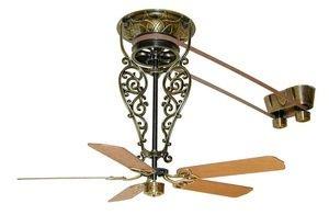 Fanimation Fans Fp580Ab Bourbon Street Ceiling Fan (Motor Only), Antique Brass Finish