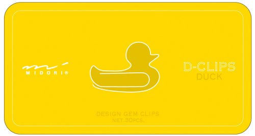 Midori ディークリップス duck pattern