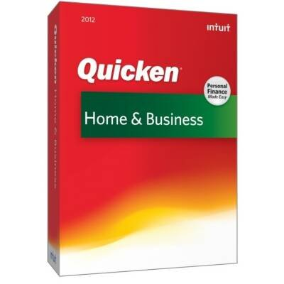 Intuit Quicken 2012 Home & Business - Complete Product - 1 User (417207) -