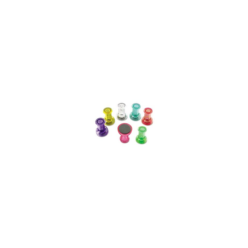 BVC IM356601 MAGNETIC PUSH PINS, ASSORTED, 6 PER PACK