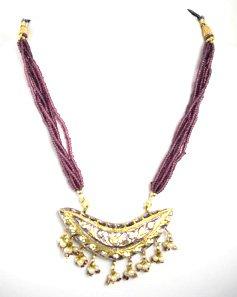 Indian Necklace Set (Purple)