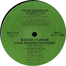 Master Cylinder / Your Missions Impossible