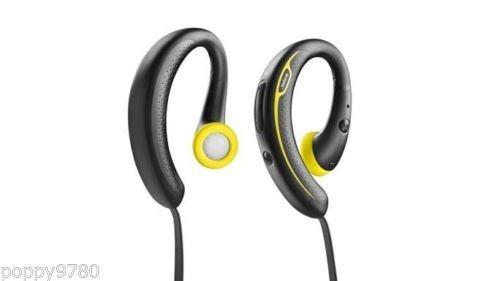 Brand New Jabra Sport+ Plus Wireless+ Bluetooth Stereo Headphones Black / Yellow