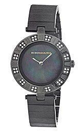 BCBGMAXAZRIA Crystal Collection Florence Mother-of-pearl Dial Women's watch #BG8250