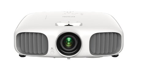 Epson PowerLite Home Cinema 3010e, Full HD 1080p, 2D and 3D Home Theater Projector with Integrated Speakers and Wireless HD (V11H450020)