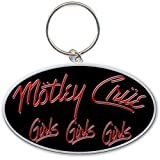 Motley Crue Girls, Girls, Girls Logo Keychain 100% Original Official Licensed Products