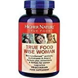 Higher Nature True Food Wise Woman 180 capsule