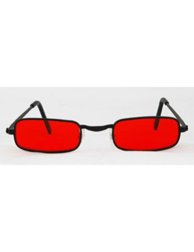 Sunglasses Glasses Vampire Blk Red Halloween Costume - 1 size