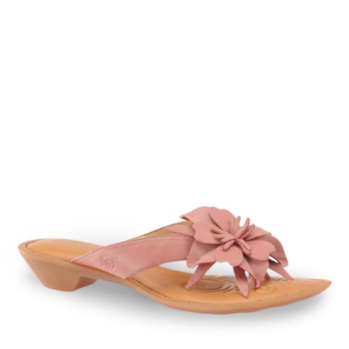 Born Women's Chacha Thong Sandals, Pink, 6