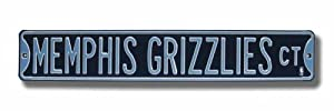 Memphis Grizzlies Authentic Street Sign by Authentic Street Signs