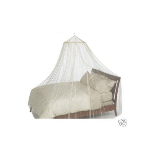 Mosquito Nets 4 U, Zanzariera per lettino, priva di agenti chimici, no irritazioni cutanee, colore: Bianco