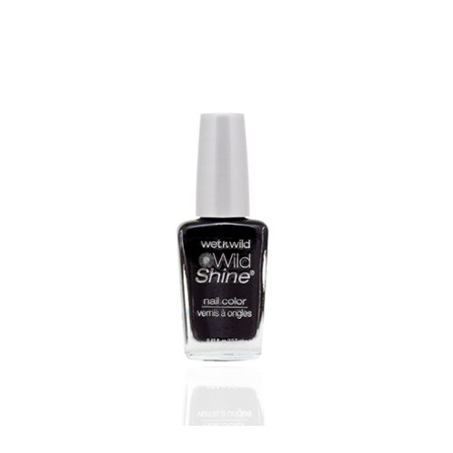 ウェットアンドワイルド Wild Shine Nail Color Black Creme