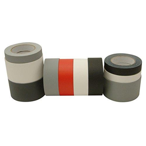 JVCC GAFF30YD Premium Grade 30 Yard Gaffers Tape: 1 in. x 30 yds. (Black)