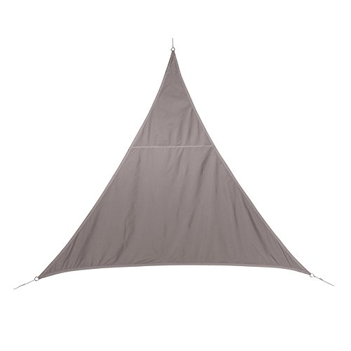 Voile d'ombrage Triangulaire (L4m) Curacao Taupe