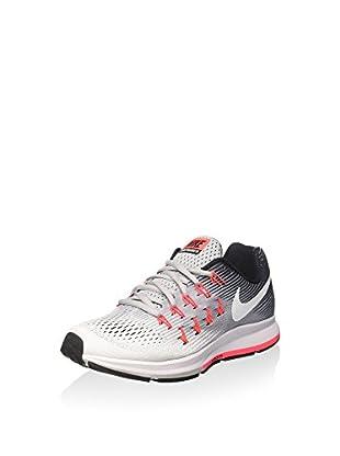 Nike Zapatillas Wmns Air Zoom Pegasus 33 (Gris / Coral)