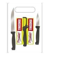 buy prestige tru edge 99576 kitchen knife set with cutting