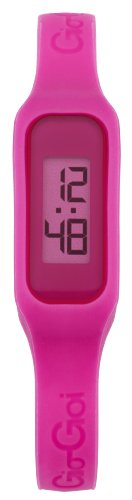 Gio-Goi Unisex 'The Band' Digital Watch GG1001P With Pink Rubber Strap
