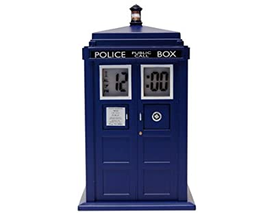 Doctor Who TARDIS Projection Alarm Clock from Underground Toys