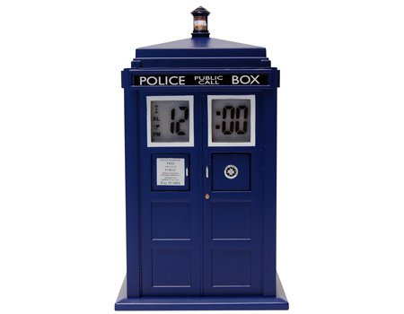 Le réveil tardis! Dr Who - Tardis Projection Alarm Clock, Doctor Who, gadget, Gadgets,  geek