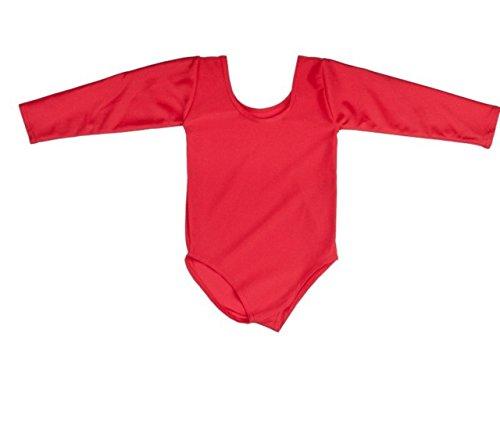 onlyuniform-body-per-la-scuola-la-ginnastica-la-danza-in-lycra-rosso-rosso-5-6-anni
