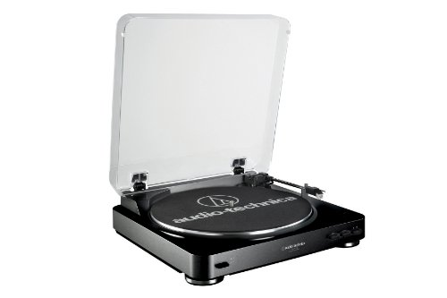 Check Out This Audio Technica AT-LP60 Fully Automatic Belt Driven Turntable- Black