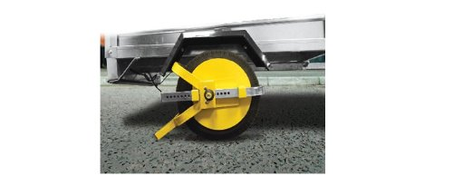 TRAILER WHEEL CLAMP 8