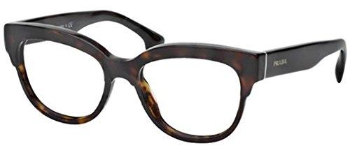 Prada montatura per occhiale da vista pr 21qv 2au101 Portrait woman new