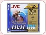 JVC DVD-RW 1.4Gb 8cm 30min Pack 10 camcorder mini dvd 1.4 gb jvc dvd rw