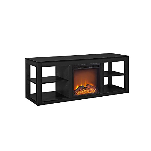 Altra Furniture Parsons Electric Fireplace TV Stand for TVs up to 65