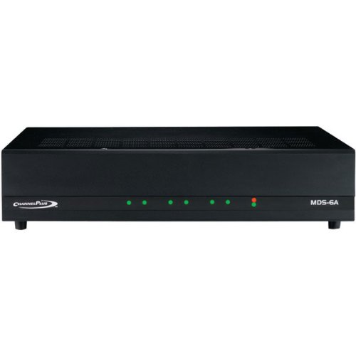 CHANNEL PLUS MDS-6A 6-SOURCE Multi-room Music Distribution System