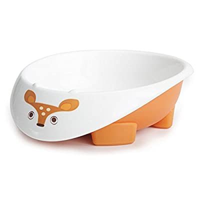Greenpoint Brands, Eco Bowl, Orange, 6+ Months, 1 Bowl