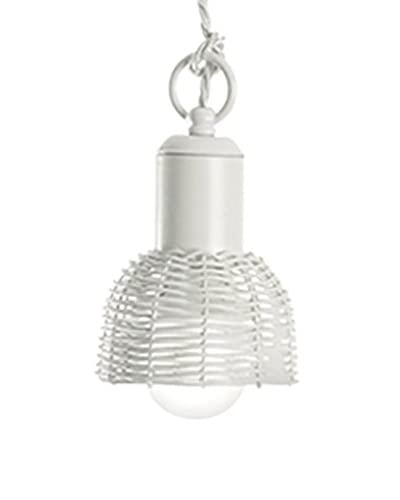 Gibas hanglamp Cestino ivoor