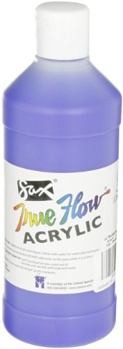 Sax True Flow Medium-Bodied Acrylic Paint - Pint - Ultramarine Blue