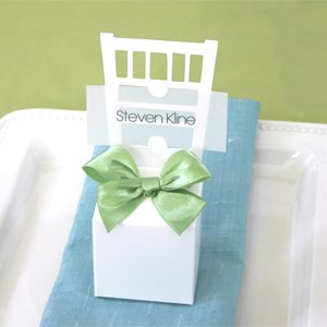 Chair Place Card Boxes (Set of 288) - Baby Shower Gifts & Wedding Favors