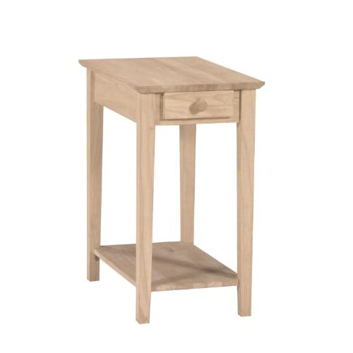 Narrow end table for Narrow accent table