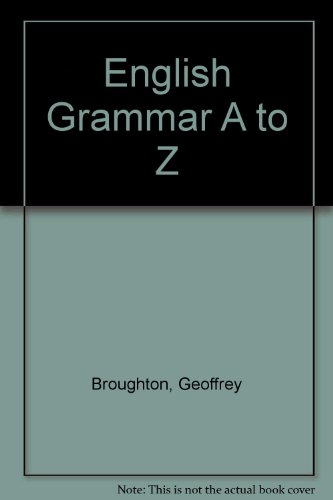 English Grammar A to Z