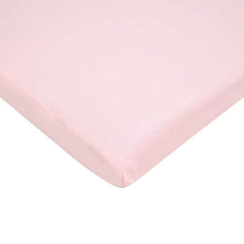 American Baby Company 100% Cotton Value Jersey Knit Cradle Sheet, Pink