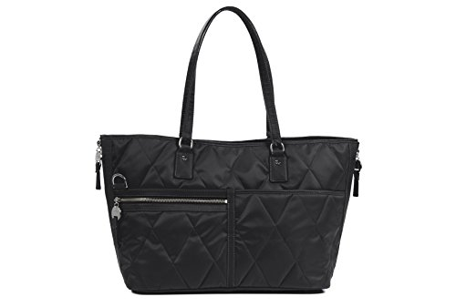 Danzo Diaper Bags Lexington, Black with Orchid Interior