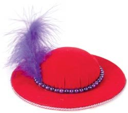 RED HAT--Dritz Collectible Pin Cushion