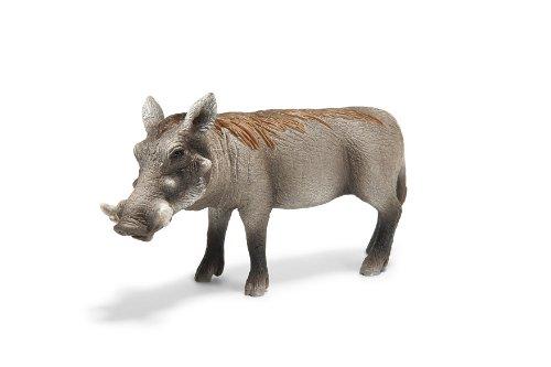 Schleich Warthog Sow Toy Figure - 1