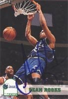 Sean Rooks Dallas Mavericks 1993 Skybox Autographed Hand Signed Trading Card. by Hall+of+Fame+Memorabilia