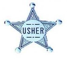 "Amazon.com: Badge-Usher-Pin Back (2"" Silver Star)-Metal"