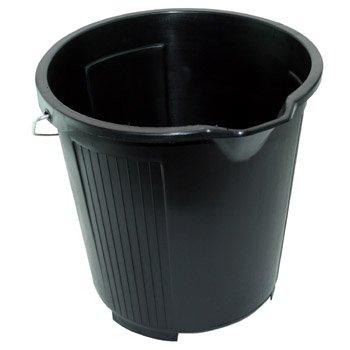 Kent Car Care Plastic Bucket Black 10Ltr for car cleaning valeting