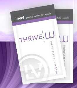 Thrive W - Premium Lifestyle Capsules (60 Capsules Per Box) Women's