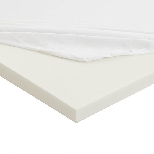 Lowest Prices! Sleep Innovations Anti-Allergy Memory Foam Mattress Topper, King