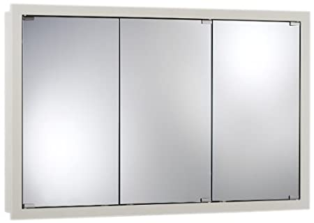 Jensen 740613 Granville Oversize Medicine Cabinet, Classic White, 48-Inch by 30-Inch by 4-3/4-Inch